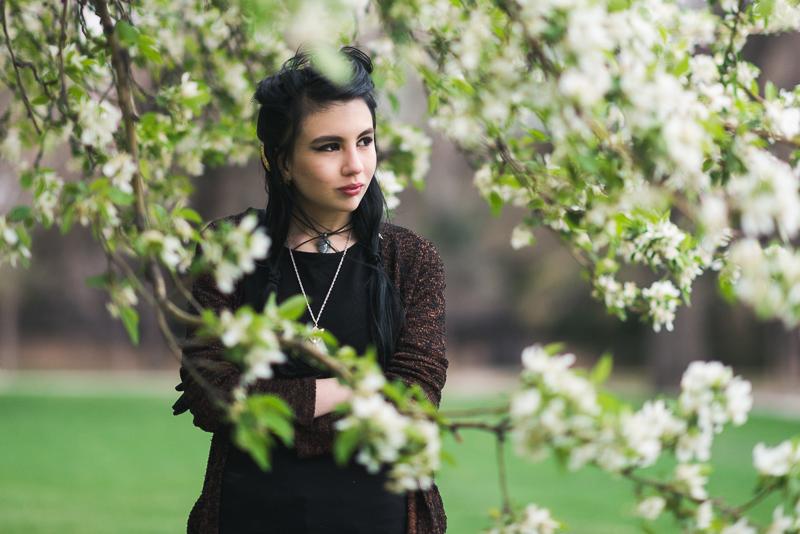 denver senior portraits spring park