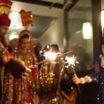 Denver Pakastani Wedding Photographer Sparkler exit