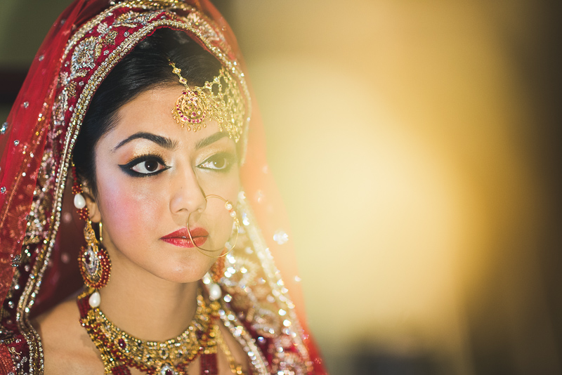 Denver Pakistani Wedding bride
