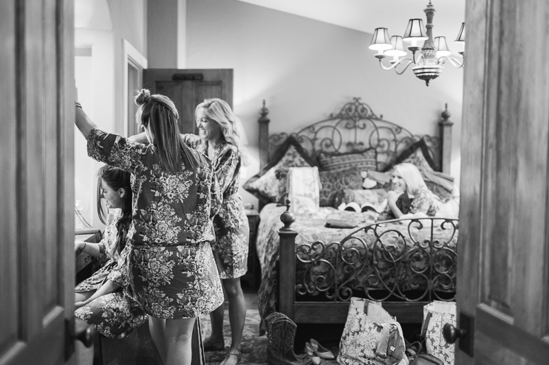 Spruce Mountain Ranch Wedding Photography ladies getting ready