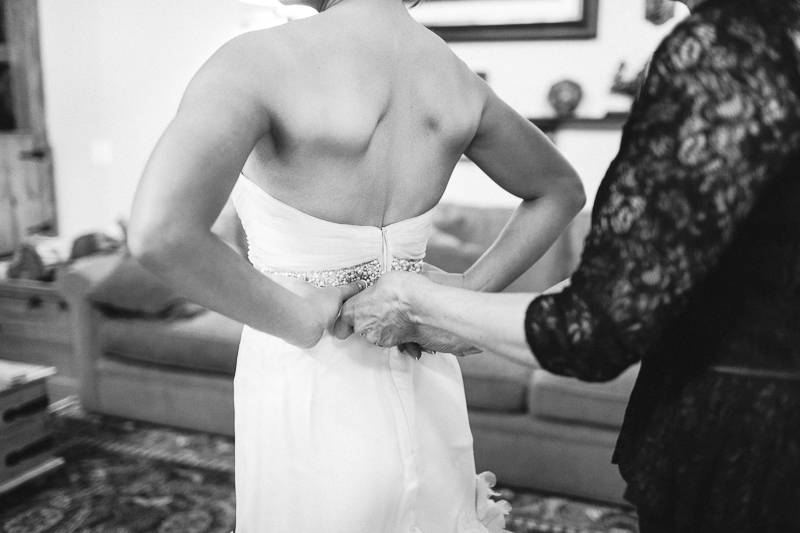 Spruce Mountain Ranch Wedding Photography bride getting ready