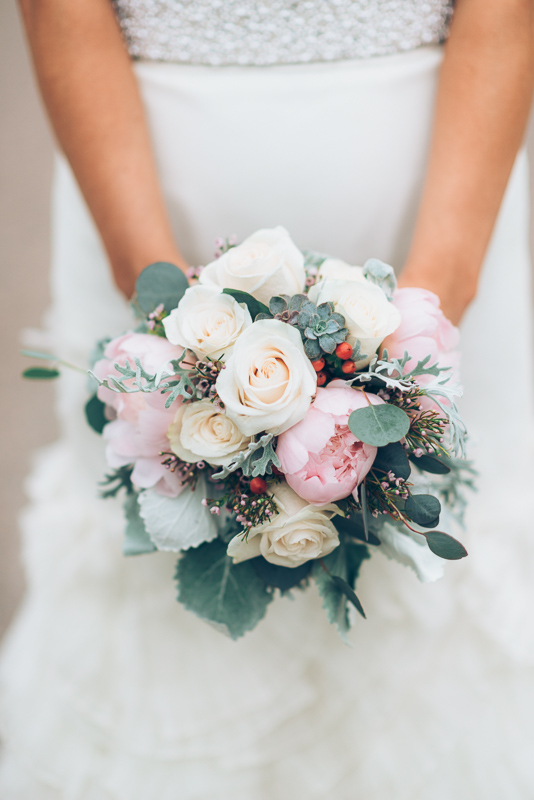 Spruce Mountain Ranch Wedding Photography bride bouquet