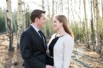 Evergreen Engagement Photos