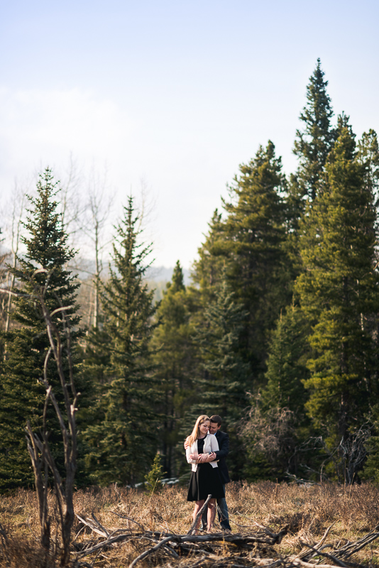 Evergreen Engagement Photos epic photo