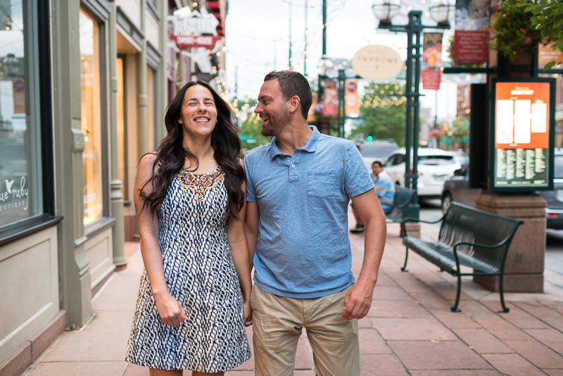 Denver Engagement Photography larimer square