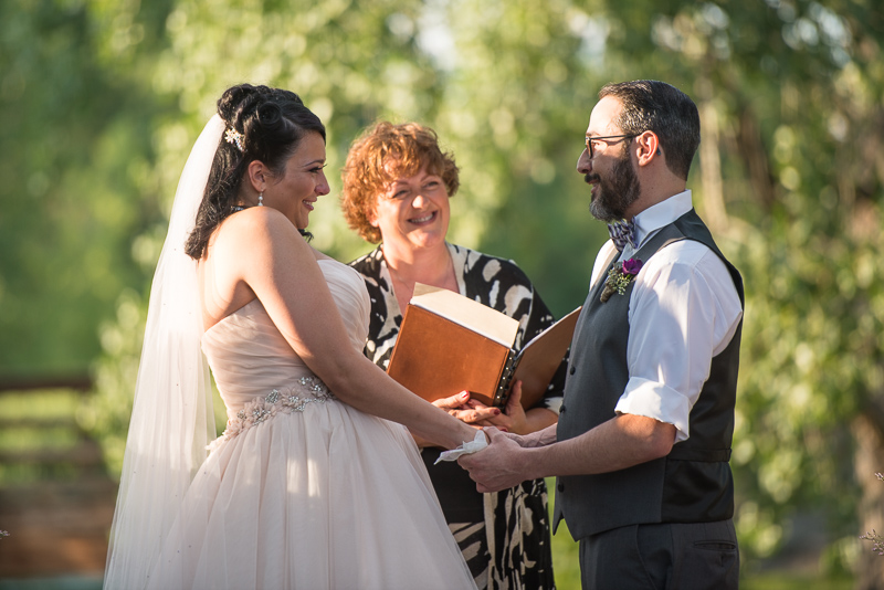Denver Wedding Photographer Hudson Gardens ceremony