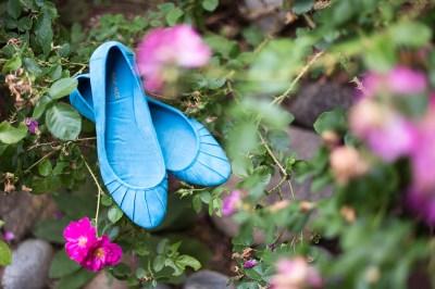 Golden Wedding Photographer nine west blue shoes