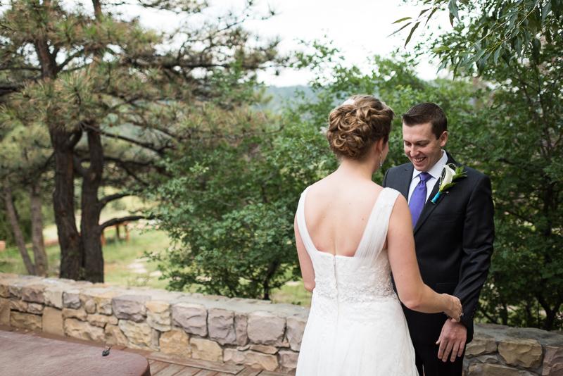 Golden Wedding Photographer first look