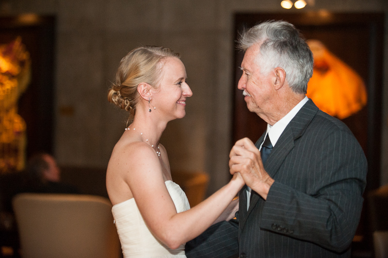 Denver Opera House Wedding Photographer father daughter dance