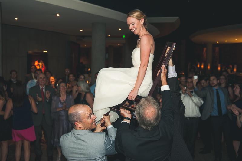 Denver Opera House Wedding Photographer bride on chair