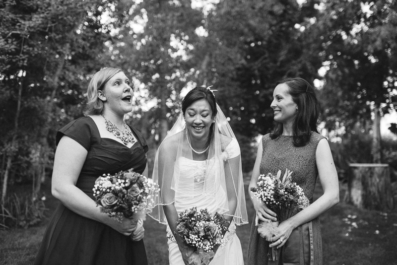 Palisade Wedding Photography laughing bride