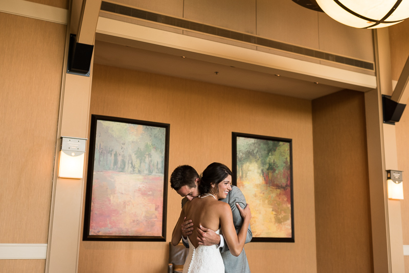Boulder Wedding Photography hotel first look