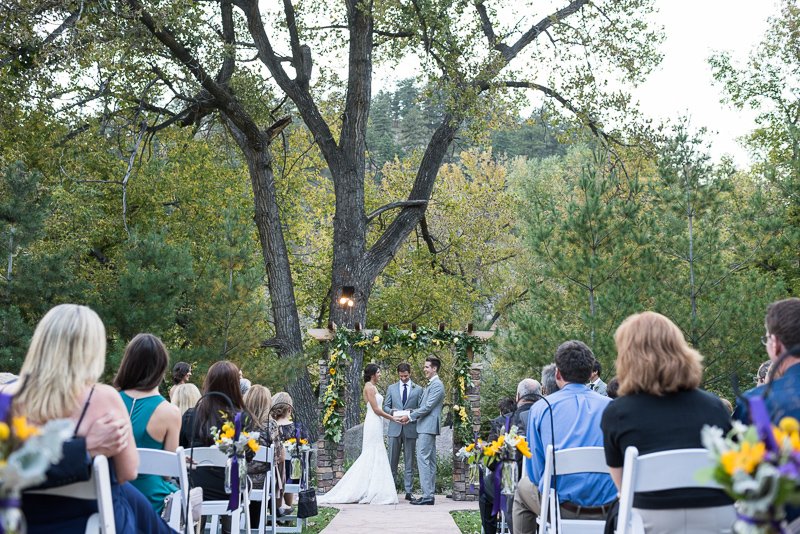 Boulder Wedding Photography wedgewood ceremony