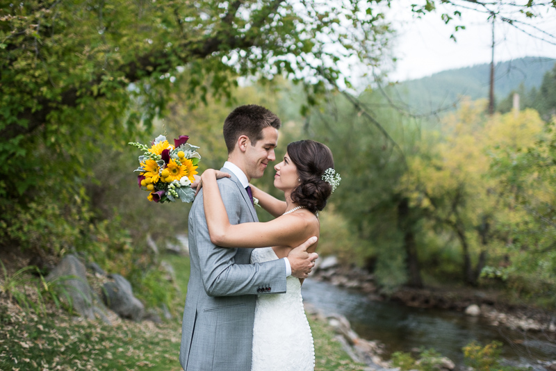 Boulder Wedding Photography bride and groom