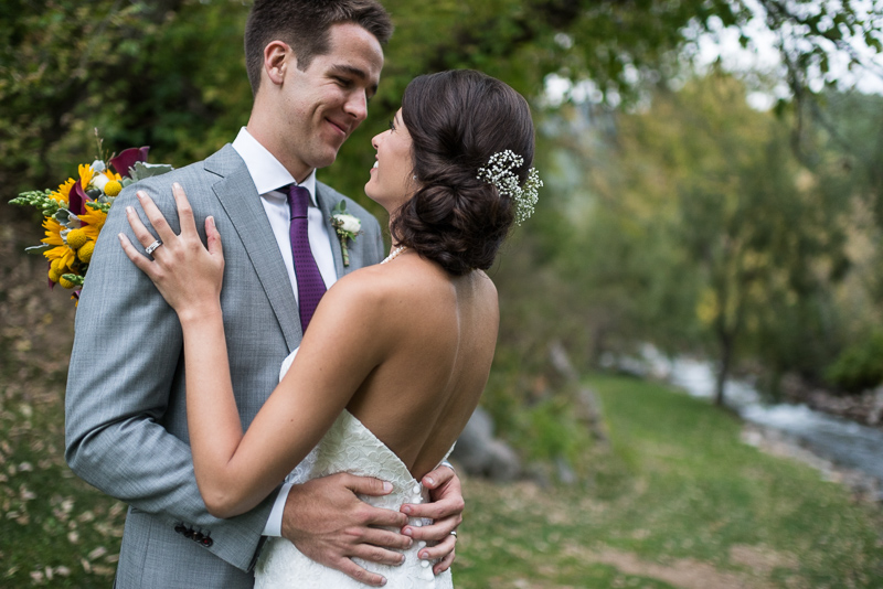 Boulder Wedding Photography smile
