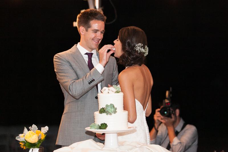Boulder Wedding Photography eating cake