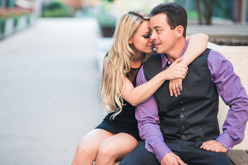 Denver Engagement Photography dressed up
