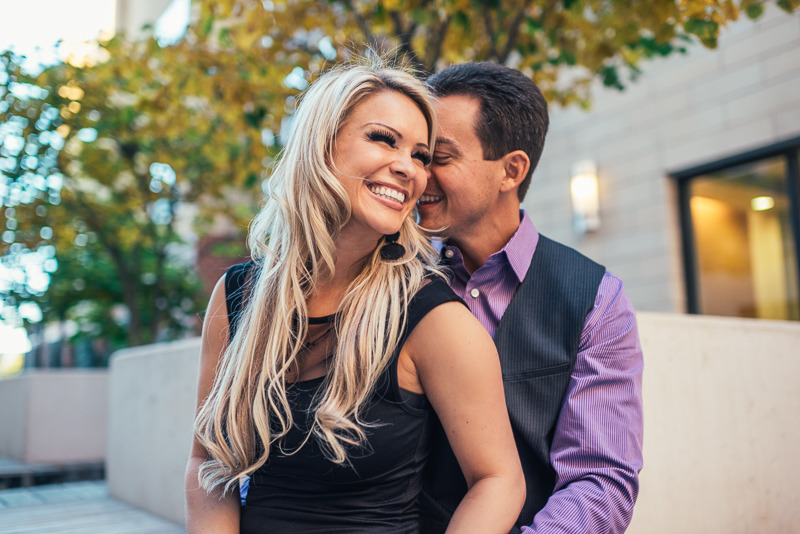 Denver Engagement Photography big smile