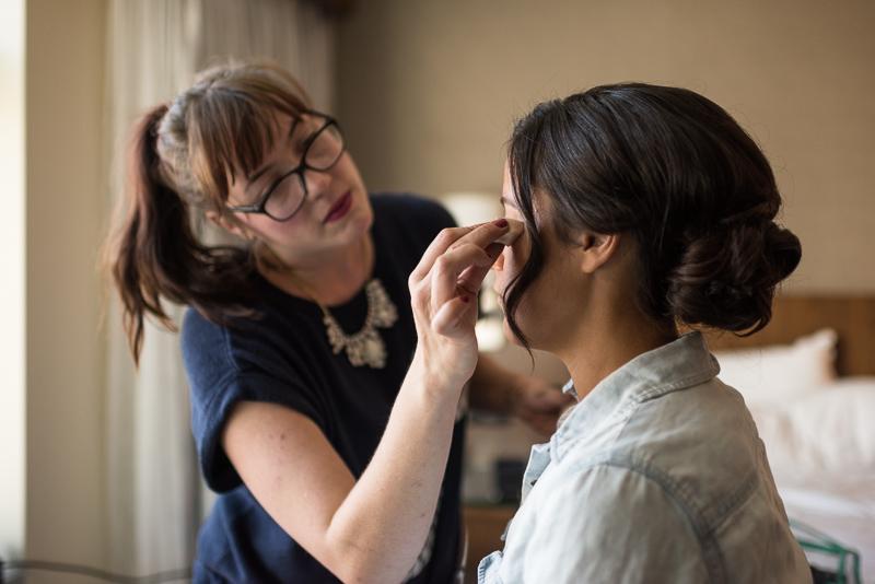 Denver Wedding Photography History Colorado makeup