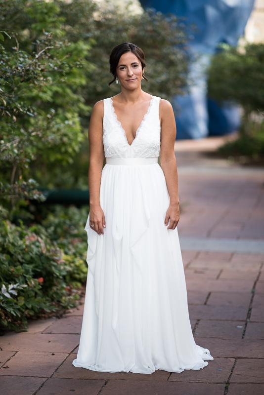 Denver Wedding Photography History Colorado bride portrait