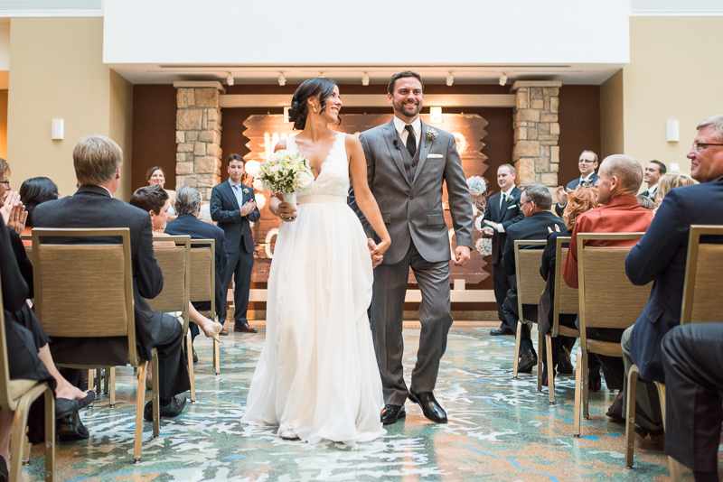 Denver Wedding Photography History Colorado recessional