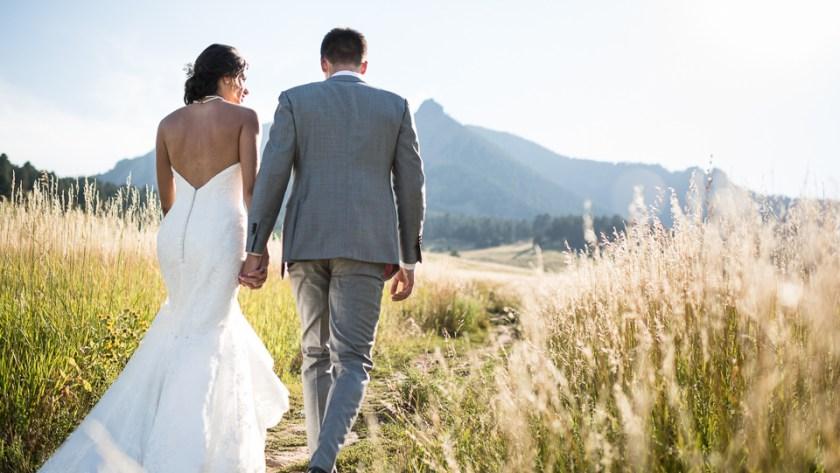 boulder wedding chautauqua park flatirons
