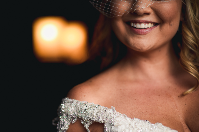 Denver Wedding Photography bride smiling