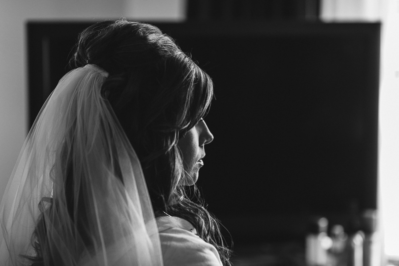 denver wedding photography bride thinking