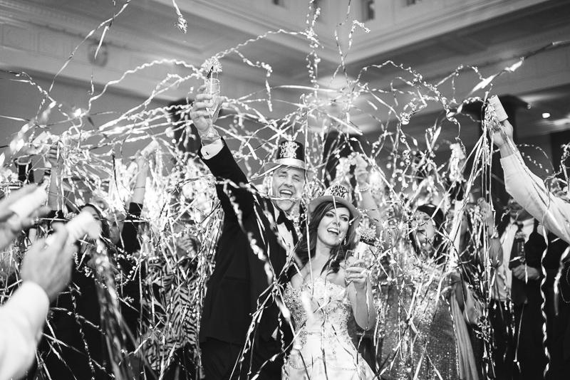 denver wedding photography streamers