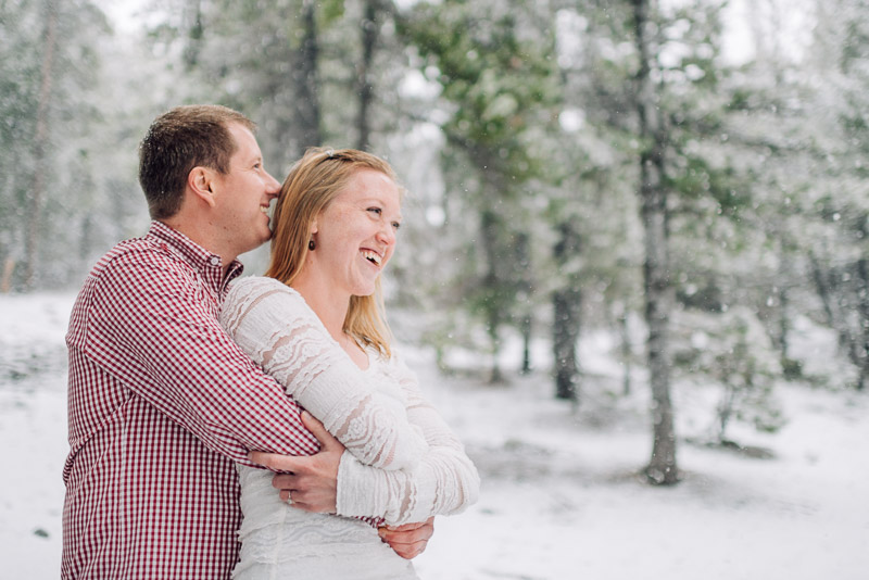 Boulder Engagement Photography smiling couple