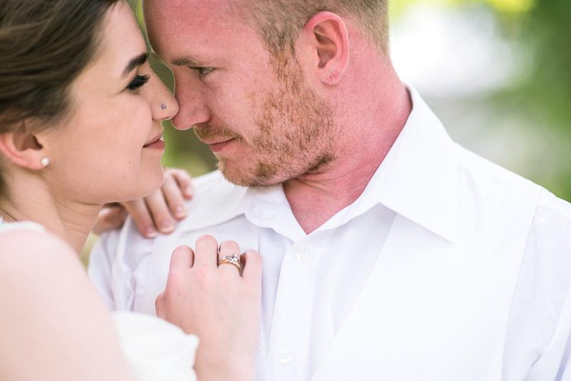 chatfield botanic gardens wedding photography happy couple