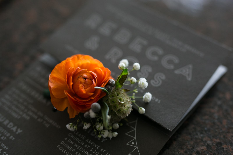 steamboat springs wedding photography boutonniere