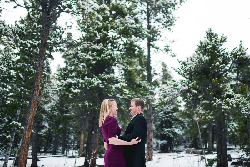 Boulder Engagement Photography dressed up