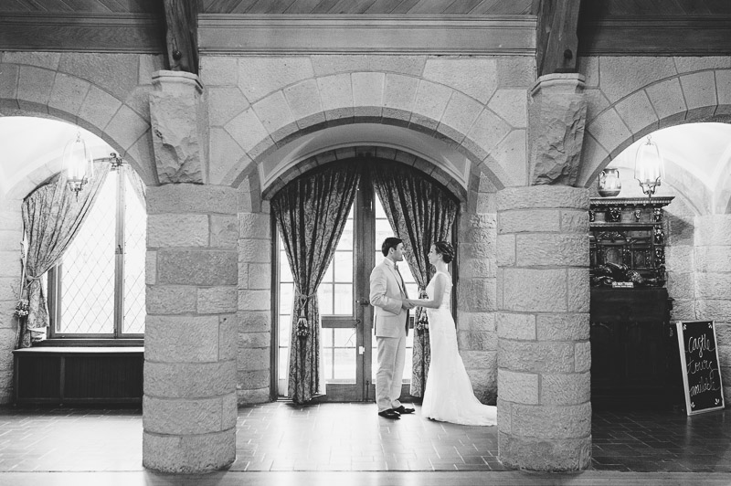 Denver Wedding Photography Cherokee Ranch and Castle first look castle