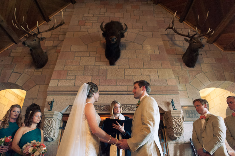 Denver Wedding Photography Cherokee Ranch and Castle holding hands