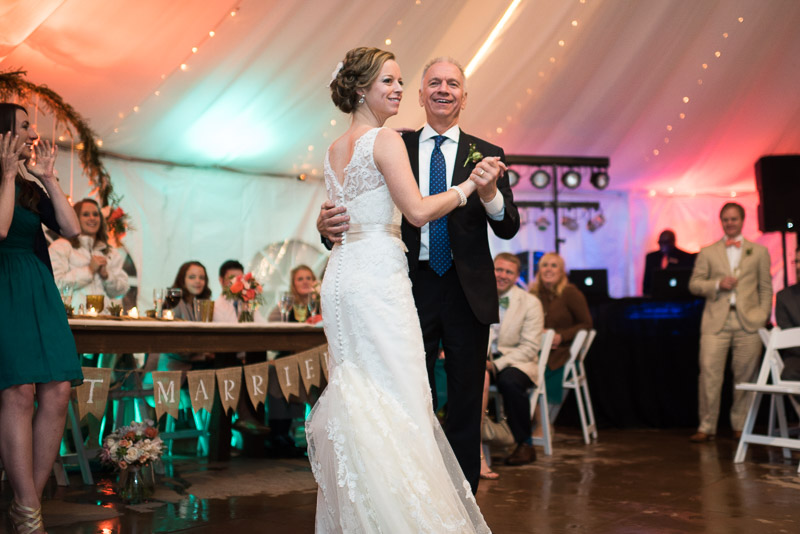 Denver Wedding Photography Cherokee Ranch and Castle father daughter dance