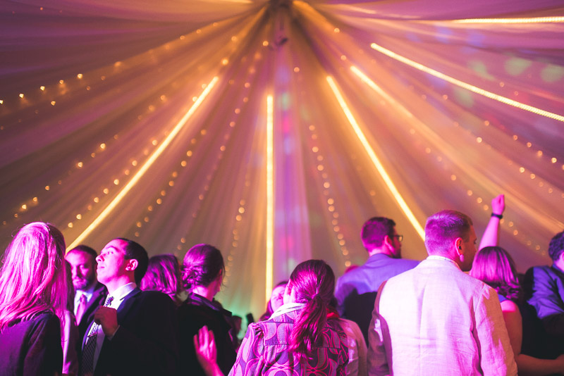 Denver Wedding Photography Cherokee Ranch and Castle lights in tent
