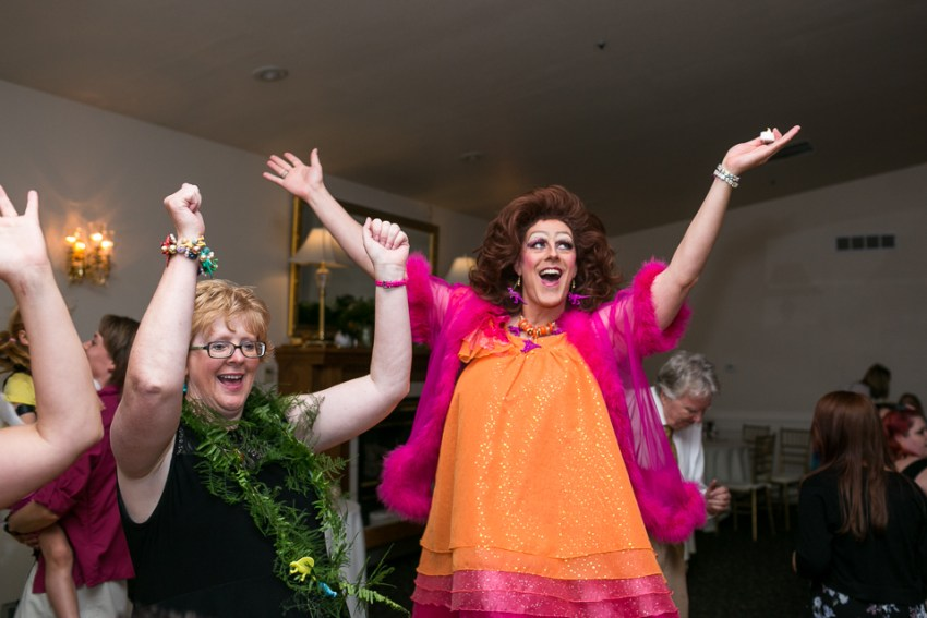 morrison willow ridge manor wedding photographer drag queen dancing