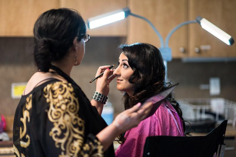 denver jewish wedding photographer bride makeup