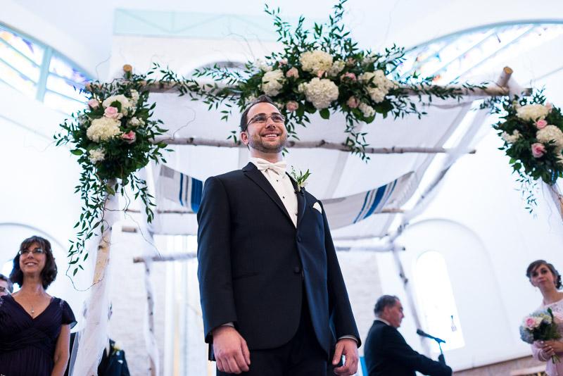 denver jewish wedding photographer groom