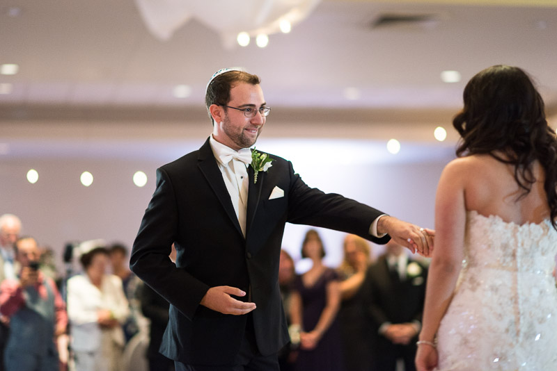denver jewish wedding photographer first dance