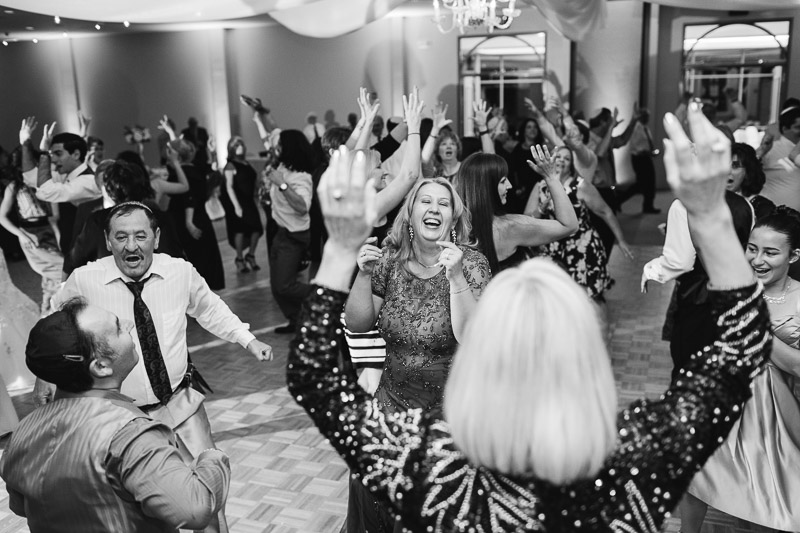 denver jewish wedding photographer dancing