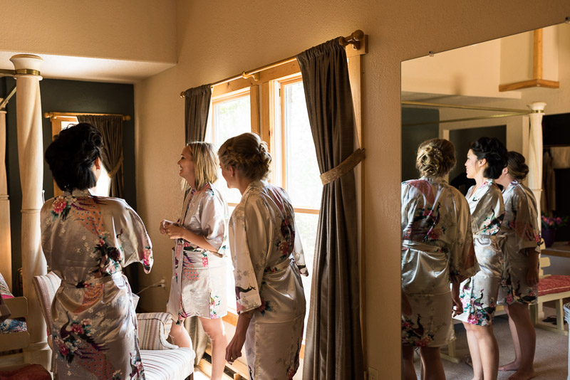Emily and Ryan Lower Lake Ranch Wedding Photography bridesmaids