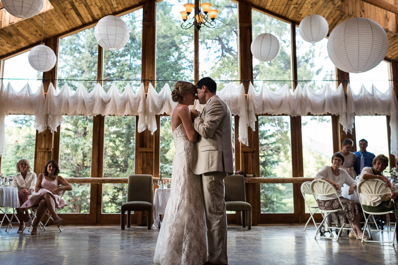 Emily and Ryan Lower Lake Ranch Wedding Photography dancing