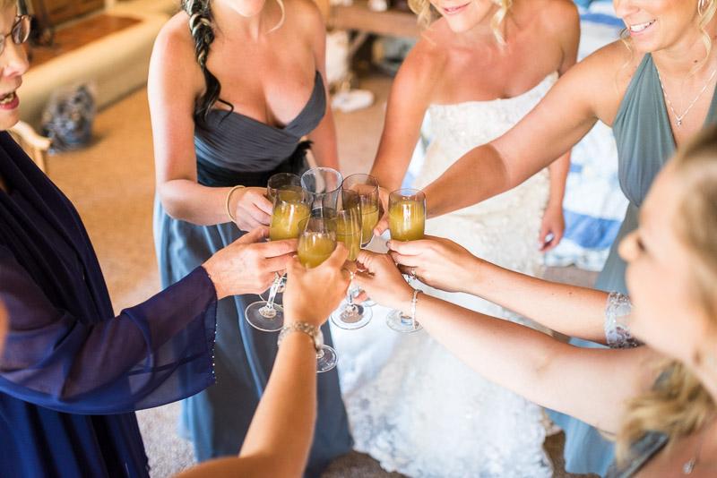 Cuchara Wedding Photographer mimosa toast