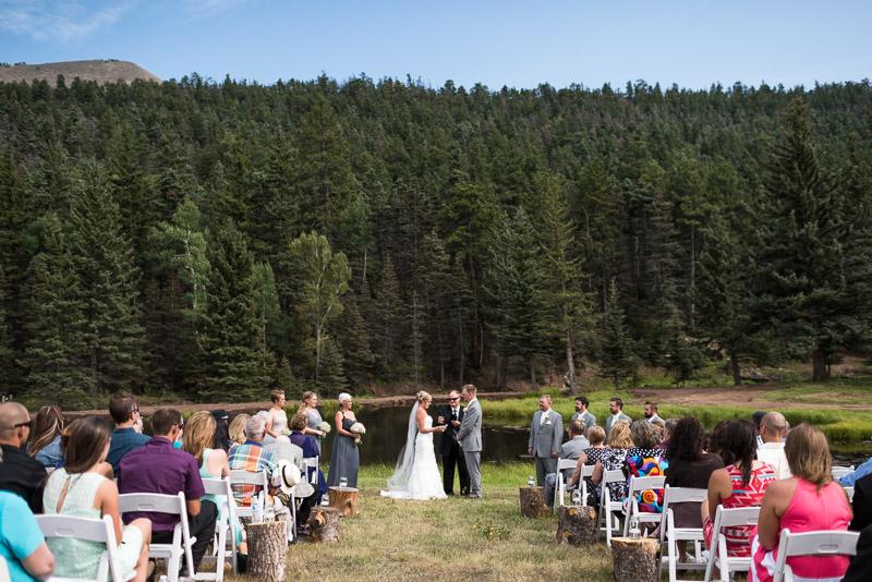 Cuchara Wedding Photographer mountain lake ceremony