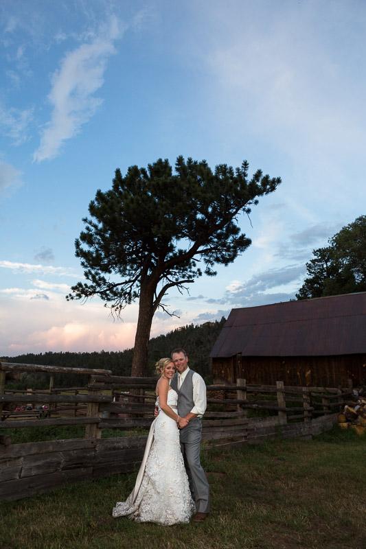 Cuchara Wedding Photographer sunset couple portrait