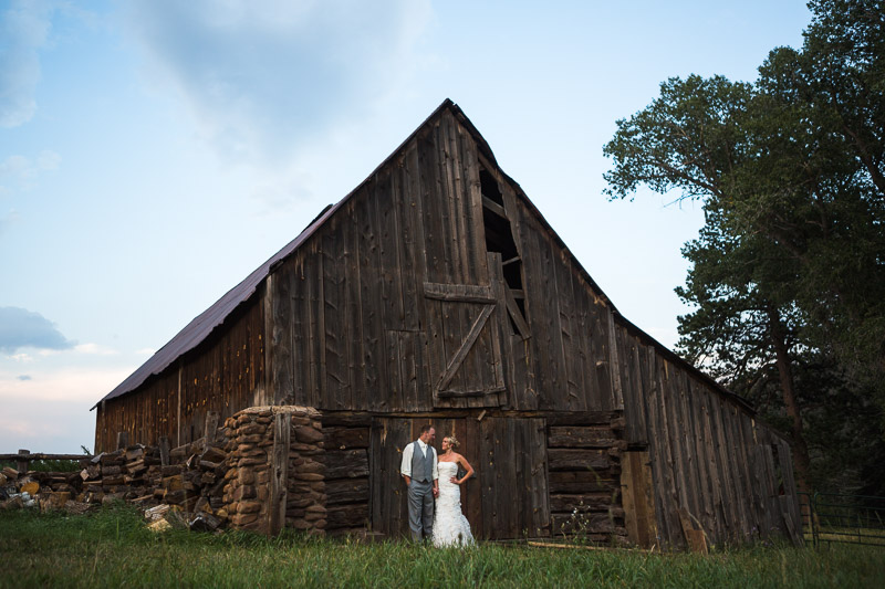 Cuchara Wedding Photographer old barn portrait
