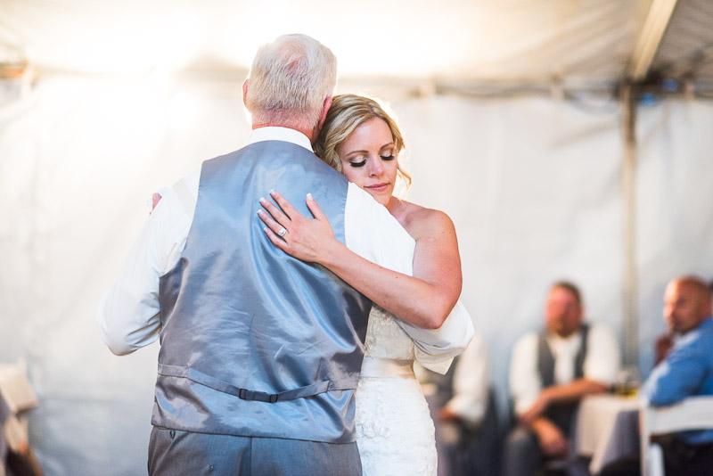 Cuchara Wedding Photographer father daughter dance