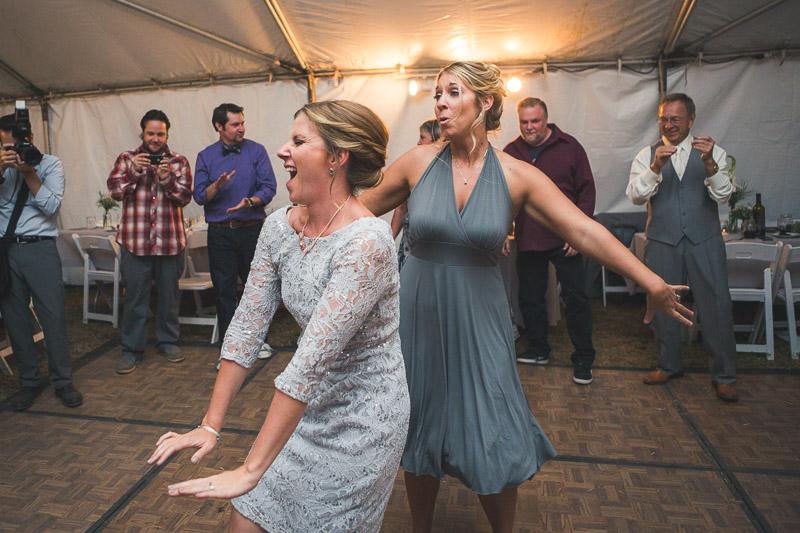 Cuchara Wedding Photographer ladies dancing